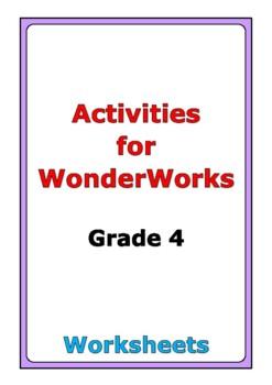 Activities for WonderWorks: Grade 4