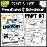 Activities for emotions and behavior {Self-awareness / Min