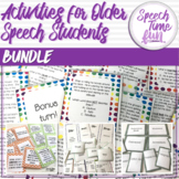 Activities for older students BUNDLE