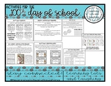 Activities for the 100th Day!