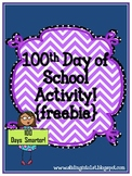 Activities for the 100th Day of School {freebie}