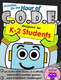 Activities for the Hour of CODE