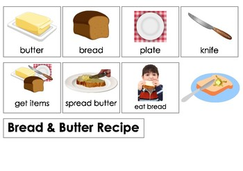 Activities of Daily Living - Recipes - Bread With Butter