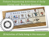Activities of Daily Living Sequencing (ADLS) - Picture Sequencing - Boardmaker