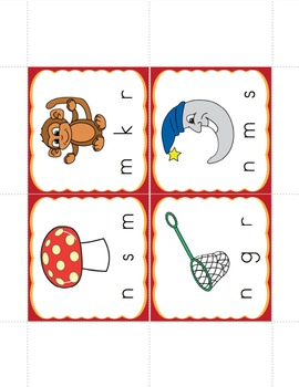 Beginning Sounds- Activities on the Go!