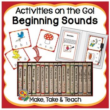 Beginning Sounds- Activities on the Go!