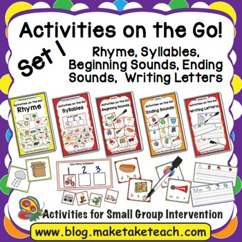 Activities on the Go!- Bundle Set 1