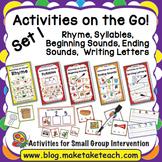 Activities on the Go!- Bundle Set 1