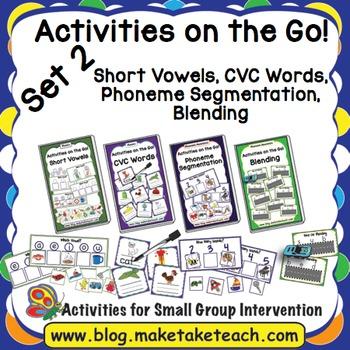 Activities on the Go!- Bundle Set 2