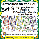Activities on the Go!- Bundle Set 3