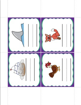 Consonant-Vowel-Consonant Words - Activities on the Go!