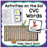Consonant-Vowel-Consonant Words - Activities on the Go!