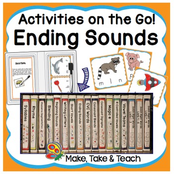 Ending Sounds- Activities on the Go!