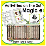 Magic e - Activities on the Go!