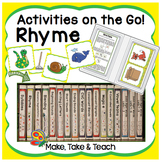 Rhyme - Activities on the Go! for Rhyme