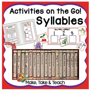 Syllables- Activities on the Go!