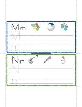 Writing Letters- Activities on the Go!
