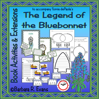 BOOK ACTIVITIES and EXTENSIONS Legend of Bluebonnet Literature Centers