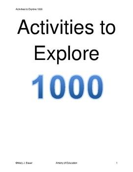 Activities to Explore 1000