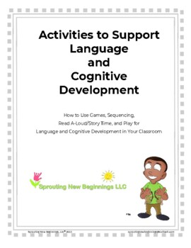 American Sign Language ~Activities to Support Language & Cognitive Development