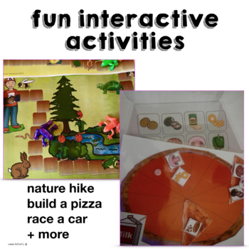 AAC Activities to Teach Me Core Words Bundle for Speech Language