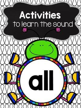 all phonics activities