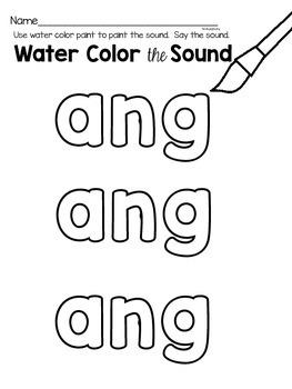 ang phonics worksheets