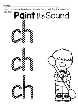 Activities to practice the sound {ch}