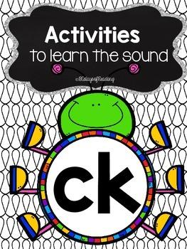 Activities to practice the sound {ck}