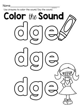 dge phonics activities