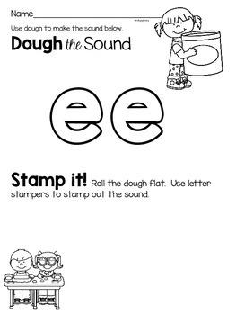 Activities to practice the sound {ee}