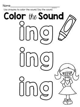 Activities to practice the sound {ing}