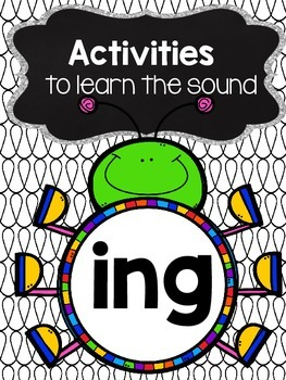 ing phonics worksheets