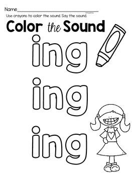 ing phonics worksheets