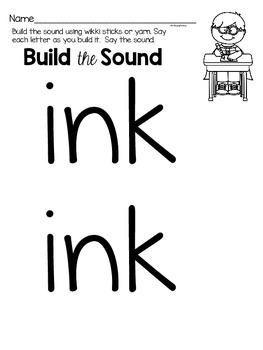 ink phonics worksheets