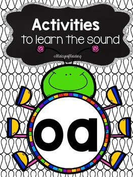 Activities to practice the sound {oa}