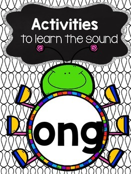 Activities to practice the sound {ong}