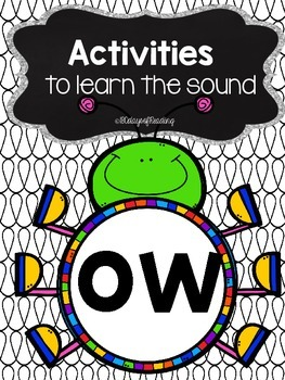 Activities to practice the sound {ow}