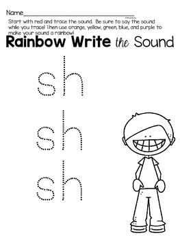 Activities to practice the sound {sh}