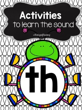 Activities to practice the sound {th}