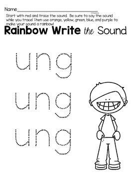 ung phonics worksheets