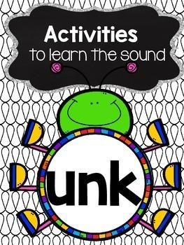 unk phonics worksheets