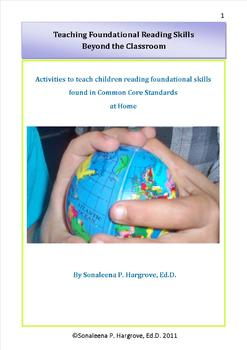 Activities to teach children CCSS reading foundational skills