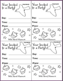 Activities unit  on manners including posters, invitations