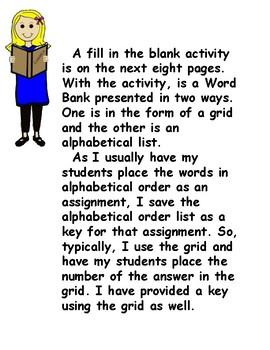 Activities with Economics Vocabulary
