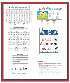 Activities with Passé Composé in French-25 Activities (130 Pages)