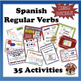 Spanish Regular Verbs MEGA Bundle