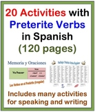 Activities with the Preterite in Spanish-20 Activities (120 Pages)
