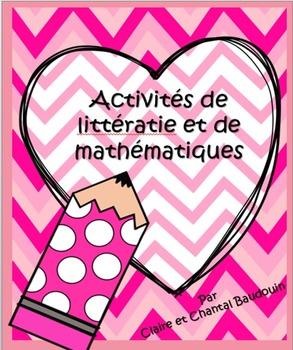 Activités de littératie et de mathématiques