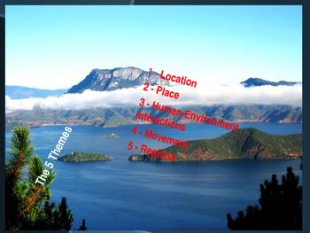 Activity 5 Five Themes & Latitude and Longitude